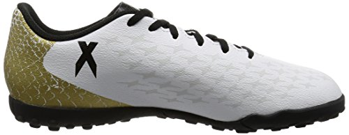 adidas X 16.4 Tf J, Chaussures de Football Entrainement Mixte Enfant Blanc (Ftwr White/core Black/gold Metallic)