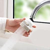 Filtro de válvula de ahorro de agua para cocina, grifo de agua, grifo de ducha, válvula de agua, regulador de salpicaduras de agua, tres tipos de salida de agua