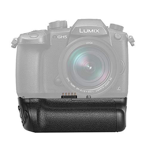 Neewer Vertikaler Batteriegriff Ersatz für DMW-BGGH5, Passend für Panasonic LUMIX GH5 Mirrorless Kamera, Arbeitet mit 1 Pack DMW-BLF19E Li-Ion Akku (Batterie Nicht im Lieferumfang enthalten)
