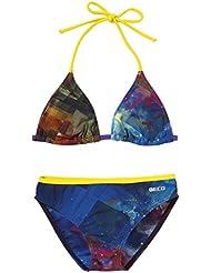 Beco Chica Bikini Aqua, niña, Bikini Aqua, Blau/Gelb/Violett, 152