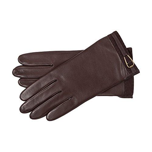Roeckl Damen Handschuhe 13012-347, Braun (Coffee 780), 6.5 (Herstellergröße: 6,5)