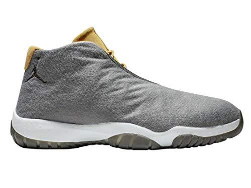 Nike Herren Air Jordan Future Fitnessschuhe, Mehrfarbig Dark Grey/Wheat/Pure Platinum 001, 42.5 EU