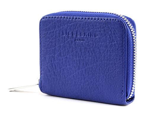 Blaue Mini Geldbörse (Liebeskind Berlin Core SLG DotH8 Deep Blue)
