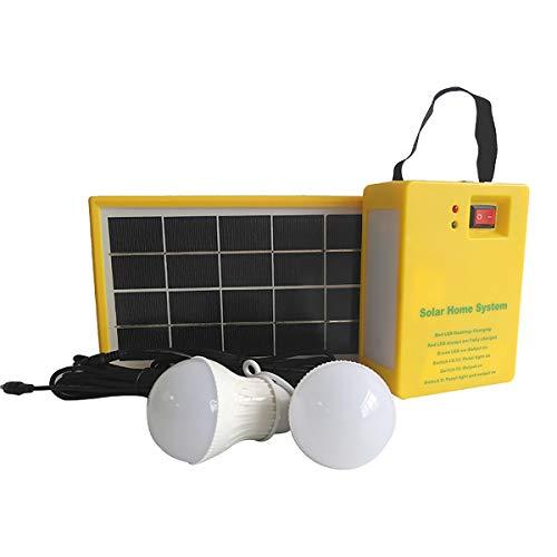 Saiko Außenbeleuchtung wasserdicht Solar Panel Beleuchtung für Camping Wandern Zelt Garden, benutzt als Hand power bank ladegeräte 3.5W