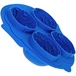 Brain-Shape Ice Cube Mold Tray---Random Color by Generic