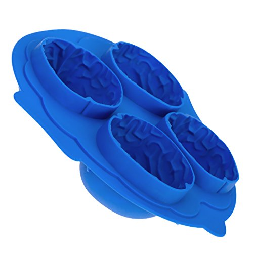 Brain-Shape Ice Cube Mold Tray---Random Color by Generic