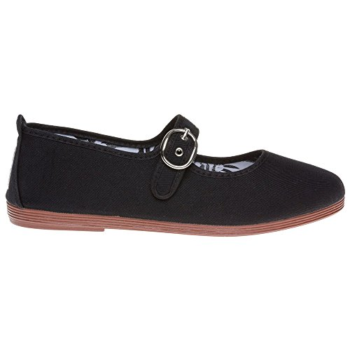Flossy Tolosa Femme Chaussures Noir Black