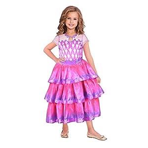 amscan 9904430 - Disfraz infantil de Barbie (104 cm), color rosa
