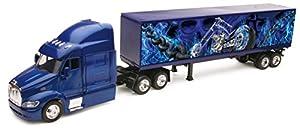 "New Ray 810104 Peterbilt 387 - Camión de Juguete (1/43°, Container de 40""), Color Azul"