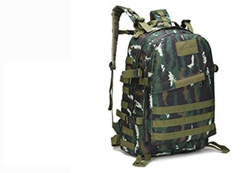 LWJgsa Outdoor - Fan Packt Camouflage - Taktik Rucksack Tour Camping Spezialeinheiten In Der Tasche Special combat camouflage