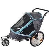 Falten Fahrradanhänger Kinder Joggen Kinderwagen Combo 2 in 1 Kind Jogger Anhänger Kann 2 Kinder Kinderwagen Anhänger