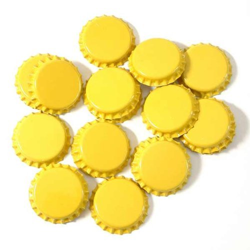 crown-caps-yellow-100-stck