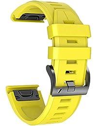 eac35942495a NotoCity Correa de Silicona 26 mm Compatible con Garmin Fenix 3   Fenix