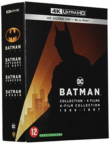 Coffret Batman 4 Films 4k Ultra HD [Blu-Ray]
