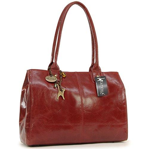 grand-sac-a-main-kensington-signe-catwalk-collection-rouge