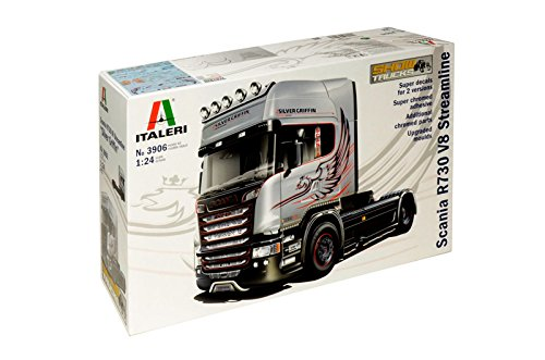 Italeri 3906 - scania r730 streamline (showtrucks) modellismo camion model kit scala 1:24