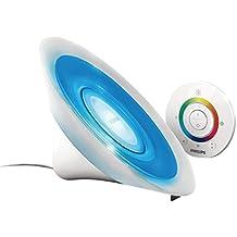 Philips LivingColors Aura White - Luz de ambiente, LED, 8 W, 220 V, 16 millones de colores, color blanco