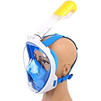 GRH Máscara de Buceo de Cara Completa de Silicona Máscara de Buceo subacuática de Buceo con