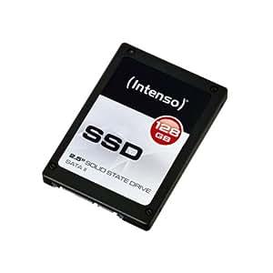 Intenso SSD 128GB interne Festplatte (6,4 cm (2,5 Zoll) SATA II) schwarz