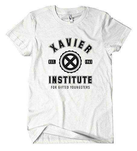Xavier Institute T-Shirt (M, Weiß)