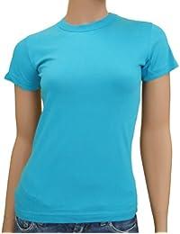 Blanko LADIES T-Shirt XS - XXL div. Farben