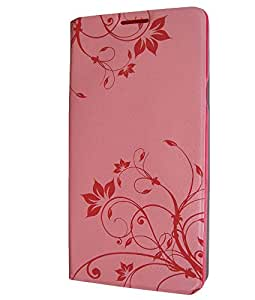 Designer Flip Cover For Samsung Galaxy A7 Light Pink