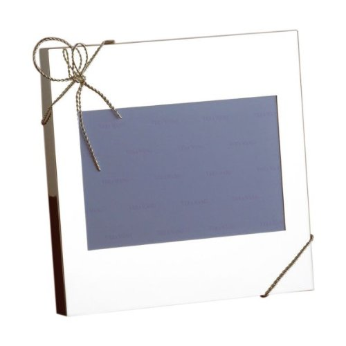 Wedgwood Vera Wang Love Knots Einzel-Silber-Foto-Rahmen 6cm von 4cm Wedgwood Love Knots