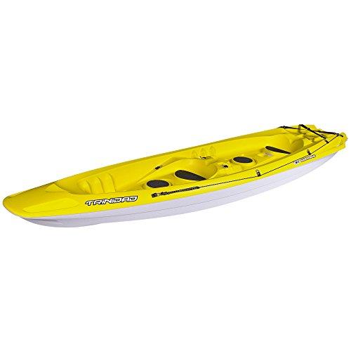 Kayak compacto de dos plazas, incluso más ligero / Aún más sólido / Aún más económico / Kayak motorizado. La alta estabilidad y el asiento ergonómico son tranquilizadores cuando te alejas de la playa. Su calado bajo, su casco trabajado y su amplia pl...