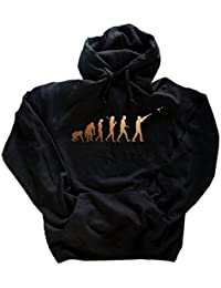 Deluxe Edition Tontauben Schießen Schütze Jäger Evolution Hoody Kapuzensweatshirt