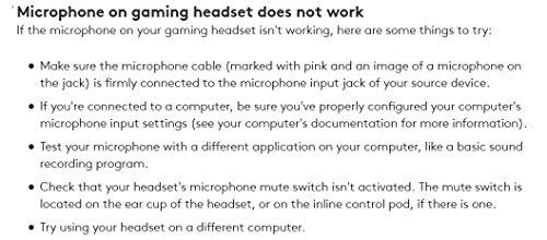 Logitech G433 Kabelgebundene Gaming Kopfhörer (7.1 Surround Sound, für PC, Xbox One, PS4, Switch, Mobiltelefon) schwarz - 6