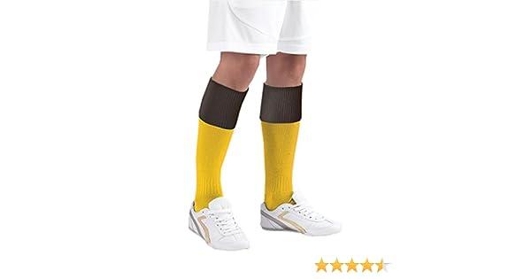 Euro Sox Football /& Hockey Sports Plain Coloured Knee High Soccer Training Sock