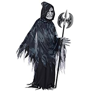 Amscan - 999 485 - Adolescentes Disfraces de Halloween - el verdugo de la Oscuridad - 12-14 años
