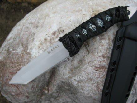 CRKT First Strike 2705 Fahrtenmesser feststehendes Messer Rochenhaut -