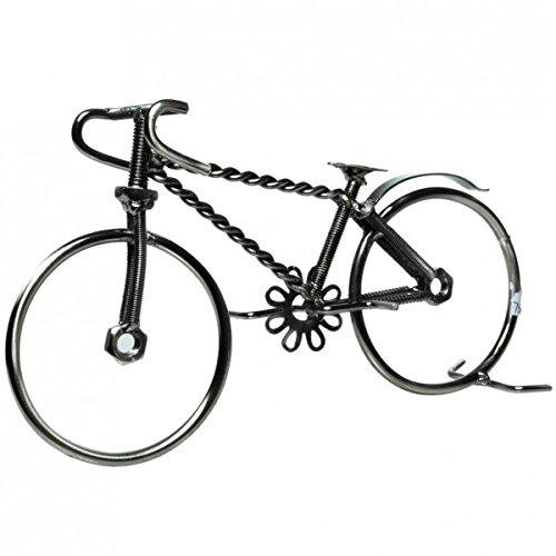 Rennrad aus Metall Deko Fahrrad Figur