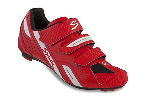 Spiuk Rodda Road - Zapatillas unisex, color rojo / blanco, talla 43