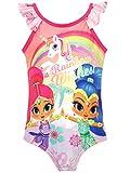 Shimmer & Shine Bañador para Niña Genios Rosa 8 a 9 Años