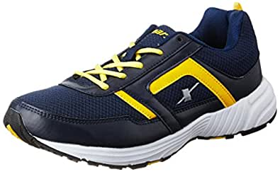Sparx Men's N.Blue and Yellow Running Shoes - 7 UK/India (40.67 EU)(SX0275G)