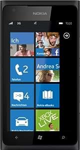 Nokia Lumia 900 Smartphone (10,92 cm (4.3 Zoll) Touchscreen, 8 Megapixel Kamera, Windows Phone Mango OS) schwarz