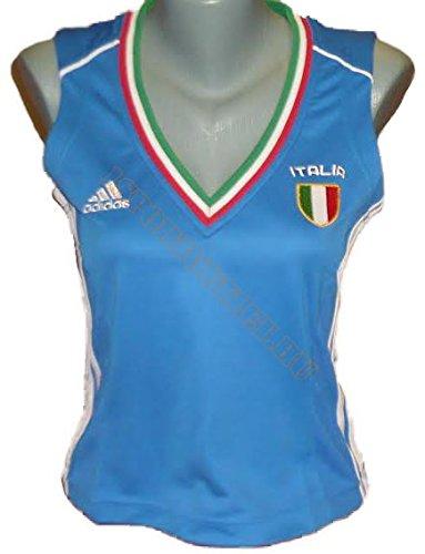 Adidas Camiseta Italy/Italia UEFA em2016. Italiana de Fútbol. Mujer. euro2016. Talla 40