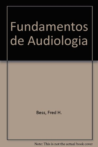 Fundamentos de Audiologia