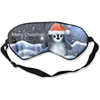 Eye Mask Eyeshade Penguin Hat Snowflakes Sleeping Mask Blindfold Eyepatch Adjustable Head Strap preisvergleich bei billige-tabletten.eu