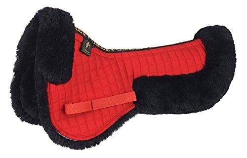 Caldene Rückenschoner, Schaffell rot Rot Pony