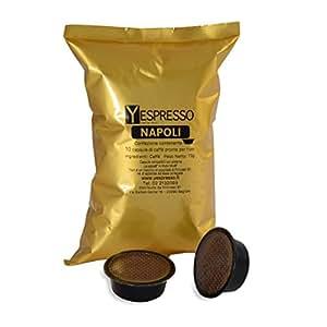 Yespresso Lavazza A Modo Mio Compatibili Napoli - Confezione da 50 Pezzi