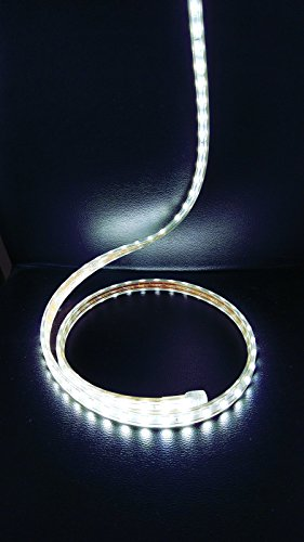 Tira-Led-de-220v-5050-IMPERMEABLE-Blanco-Fro-o-Clido-Waterproof-IP67-strip-Blanco-Fro-10-Metros-Enchufe