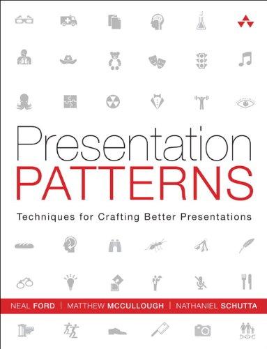 PDF Gratis Presentation Patterns: Techniques for Crafting Better Presentations