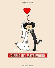 Idea Regalo - Diario del Matrimonio - Wedding Planner in italiano, agenda della sposa con le cose da fare e il diario settimana per settimana. 100 pagine 20,32 x 25: Agenda delle Nozze