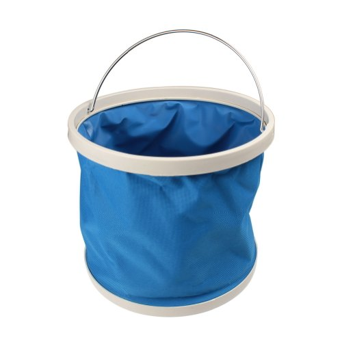 Water & Wood 9L Retractable Collapsible Camp Hiking Climbing Water Bucket Storage Carrier Container (Storage Carrier)