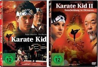 Karate Kid 1+2 im Set - Deutsche Originalware [2 DVDs]