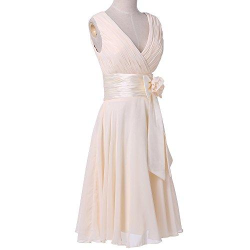 Bridal_Mall - Robe - Sans Manche - Femme Blanc