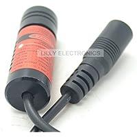 650 ml, 45 x 100-14-XL 650nm/100mw Industrial Laser rosso a pois, a croce, dimensioni: 14,5 x 45 mm-3-5 V